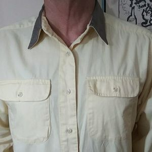 Other - Ruff Hewn, Suede like collar casual shirt
